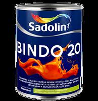 Краска для стен и потолка BINDO 20, 2,5 л (белый w0)