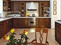 Угловые кухни из дерева, фото 1