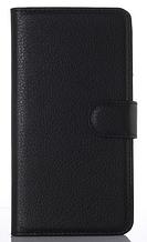 Кожаный чехол-книжка для Sony Xperia Z2 L50 D6502 D6503 D6543 черный
