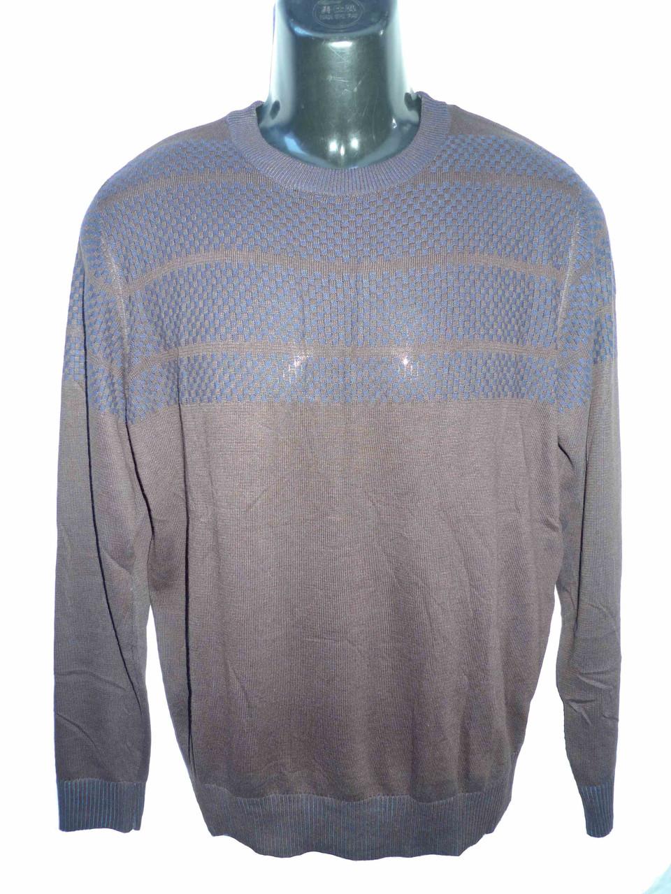коричневый легкий свитер RMX