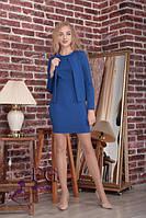 Женский костюм для офиса платье + жакет