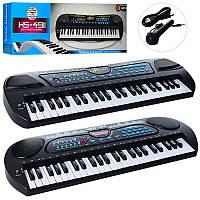 Детский синтезатор на 49 клавиш, с функцией записи,HS4911-21-31