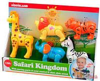 Игровой набор - дикие животные Kiddieland 661148541062