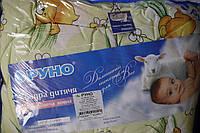 Одеяло стеганое детское на овчине