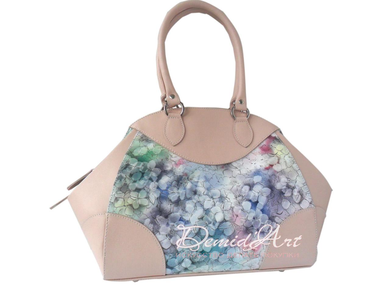 Великолепная сумка из итальянской кожи
