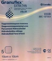 Пов'язка гідроколоїдна Granuflex/DuoDERM, екстратонка ,стерильна, 5 см х 10 см №10