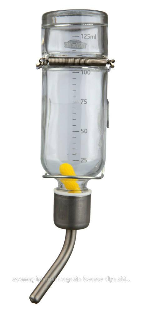 Поилка стеклянная шариковая для шиншилл (250мл), Trixie™