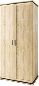 Палермо  шкаф 2Д 2.0 2020х906х590мм дуб сонома   Світ Меблів