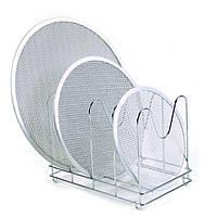 Подставка-Держатель для сетки из хромированного металла  36x22x26 см GI.METAL