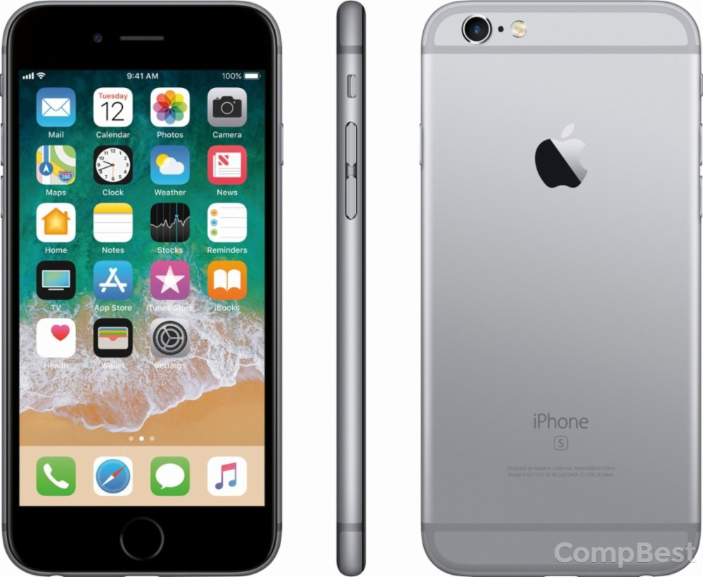 IPhone 6s / 16GB / gray / гарантия 1 мес.