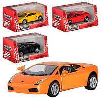 Детская Инерционная Машина Lamborghini Gallardo KT 5098 W, Металлическая машинка KT 5098 W