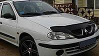 Дефлектор капота (мухобойка) Рено Меган (Renault Megane) 1999-2002 г