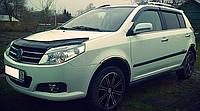 Дефлектор капота (мухобойка) Рено Сандеро (Renault Sandero) с 2014 г
