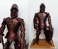 Аксессуар Рыцарь в классических доспехах 50 см. на подставке