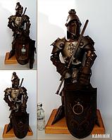 Аксессуар Рыцарь с баром или сейфом 50 см. с подставкой