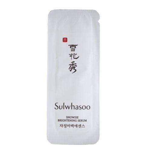 Sulwhasoo Отбеливающая сыворотка Пробник Snowise EX Brightening Serum 1ml