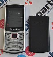 Корпус для телефона Samsung S3310 в сборе (Качество ААА) (Черный) Распродажа!
