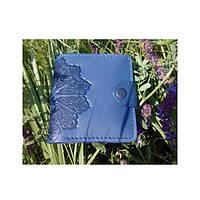 Кошелек Turtle вестерн S, Цветочное солнце, синий