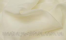 Шифон (вуаль) однотонный ванильный