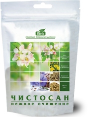 Клетчатка Чистосан для очищения организма - 150 г - Даника, Украина