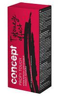 Крем-краска для бровей с эффектом ТАТУАЖА Черный, 30/20 мл Concept