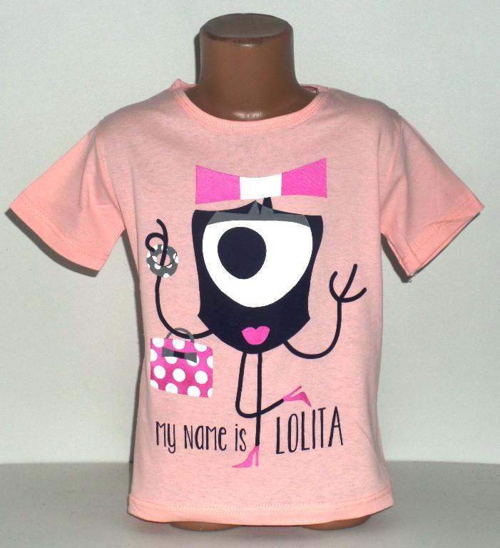 """Футболка для девочки  """"Lolita""""  4 лет"""