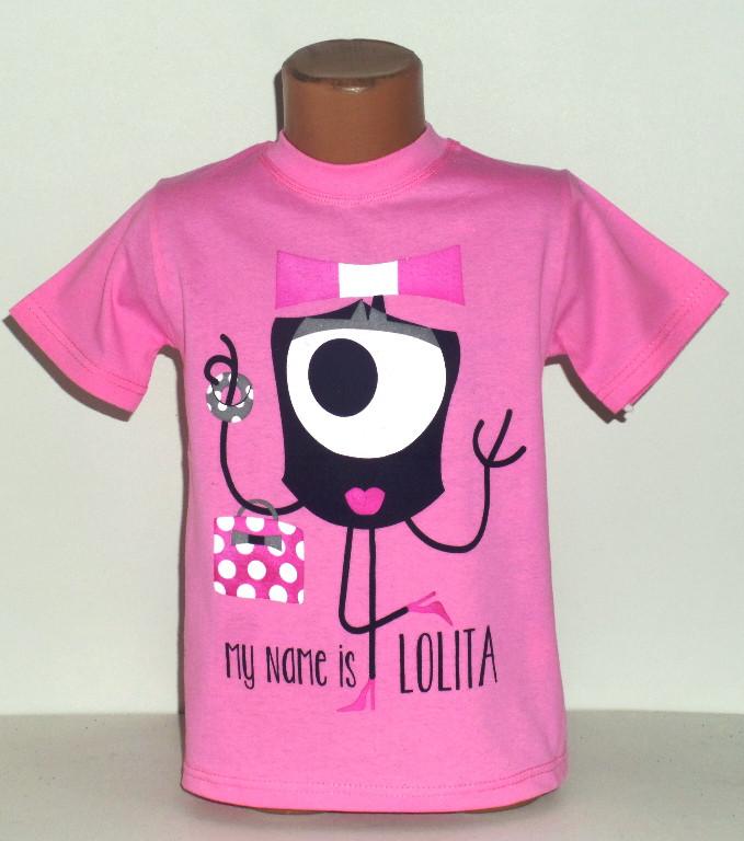 "Футболка для девочки  ""Lolita""  4 года"