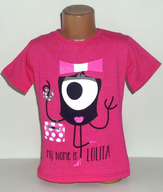 """Футболка для девочки  """"Lolita""""  4,5,6,7,8 лет"""