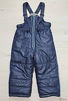 Утеплённые штаны на шлейках для мальчика (92 см)  Snowimage 2100000296934