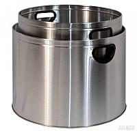 Корзина для дров (2 шт.), нержавеющая сталь