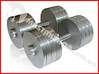 Гантели наборные-разборные 2х34 кг (68 кг пара), фото 1