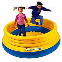 Intex 48267 (203х69 см.) Детский надувной игровой центр-батут Original Jump-O-Lene