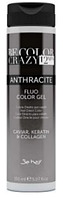 Краситель прямого действия ANTHRACITE COLOR CRAZY,150 ml. Be color