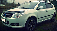 Дефлектор капота (мухобойка) Рено Флюенс (Renault Fluence) с 2013 г