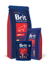 Корм Brit Premium (Брит Преміум) Dog Adult L для дорослих собак великих порід, 15 кг