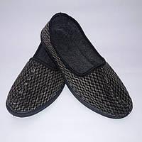 Домашнее тапки мужские Крок, фото 1