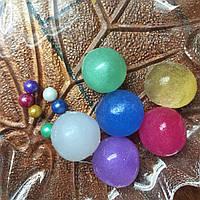 Гигантские шарики Орбиз 4-5 см, перламутр, растут в воде Orbeez гидрогель гідрогель кульки Орбіз