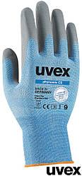 Перчатки ультралегкие универсальные защитные рабочие Uvex Германия RUVEX-NOMICC5 NS