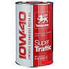 Всесезонное полусинтетическое моторное масло Wolver SUPER traffic sae 10W-40 (1L)