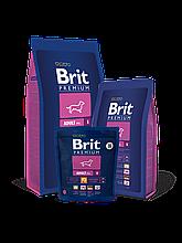 Корм Brit Premium (Брит Преміум) Dog Adult S для дорослих собак дрібних порід, 1 кг