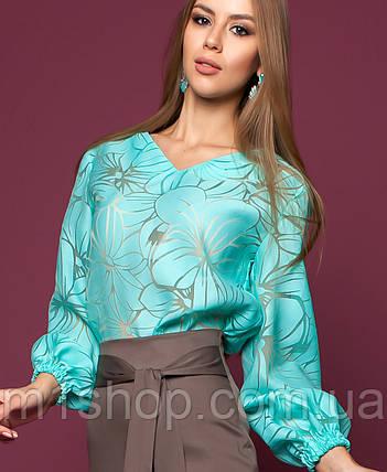 Женская блузка из органзы (Юлин jd), фото 2