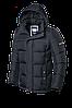 Мужская графитовая зимняя куртка Braggart (р. 46-56) арт. 2045D