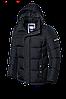 Черная мужская зимняя куртка Braggart (р. 46-56) арт. 2045