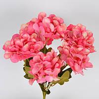 """Композиция цветочная для декора """"Гортензия"""" SUB326, размер 31х15 см, разные цвета, декоративный цветок, искусственное растение"""