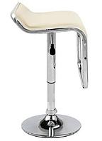 Стул визажный, барный стул бежевый, стул для администратора (Ж8 бежевый)