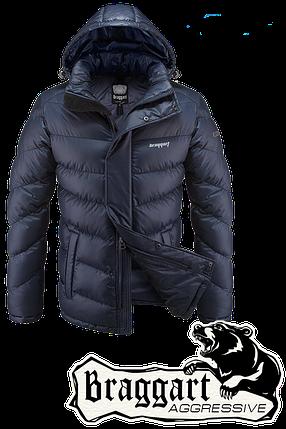 Мужская темно-синяя куртка Braggart Aggressive (р. 46-56) арт. 4382, фото 2