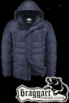 Мужская стильная зимняя куртка Braggart арт. 1998, фото 2