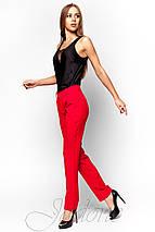 Женская черная блузка без рукавов (Титу jd), фото 2