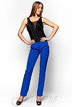 Женская черная блузка без рукавов (Титу jd), фото 3