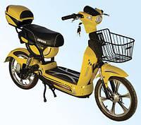 Компактный городской велосипед с электромотором Skybike Picnic 1